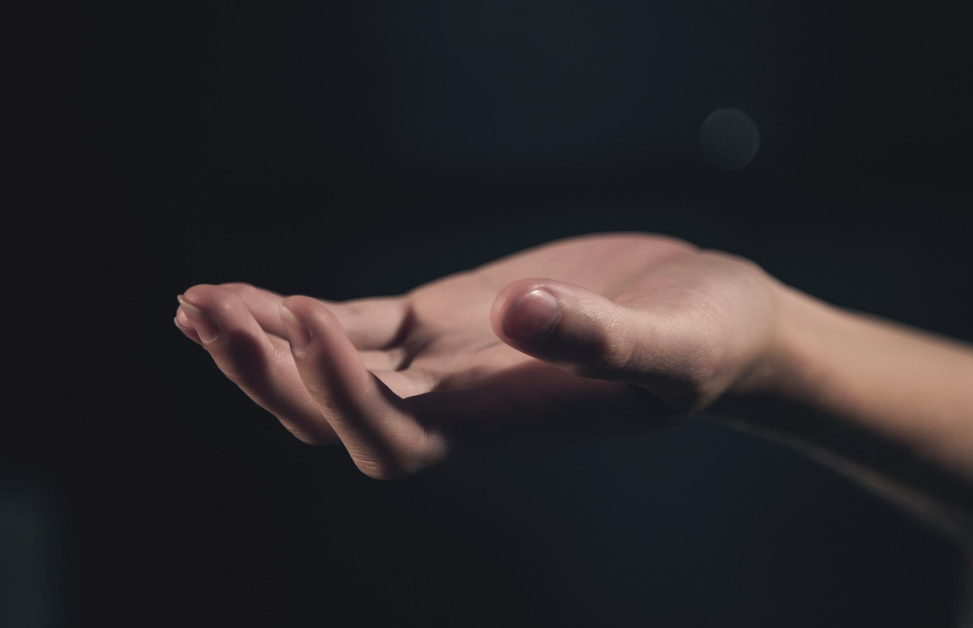 hand, skin