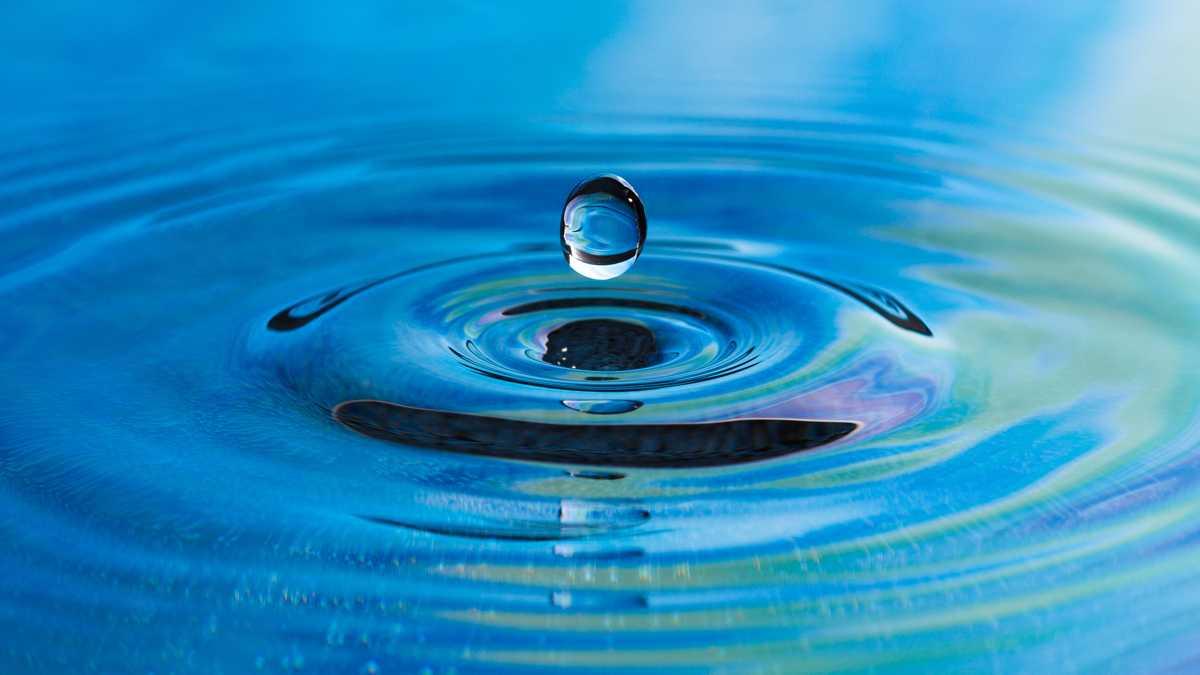 water drop, water, lake, ocean, rain drops