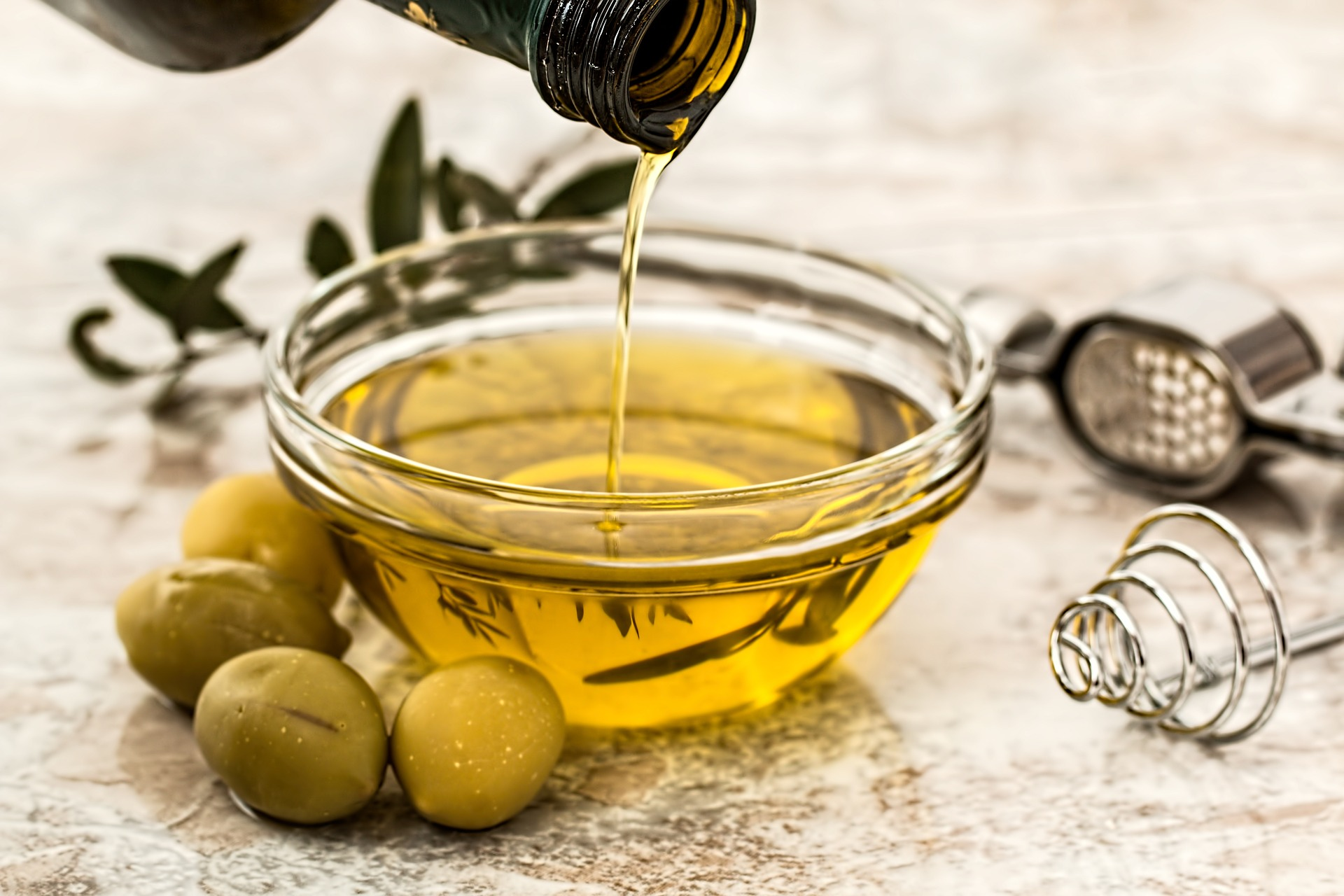 olive oil, fatty acids