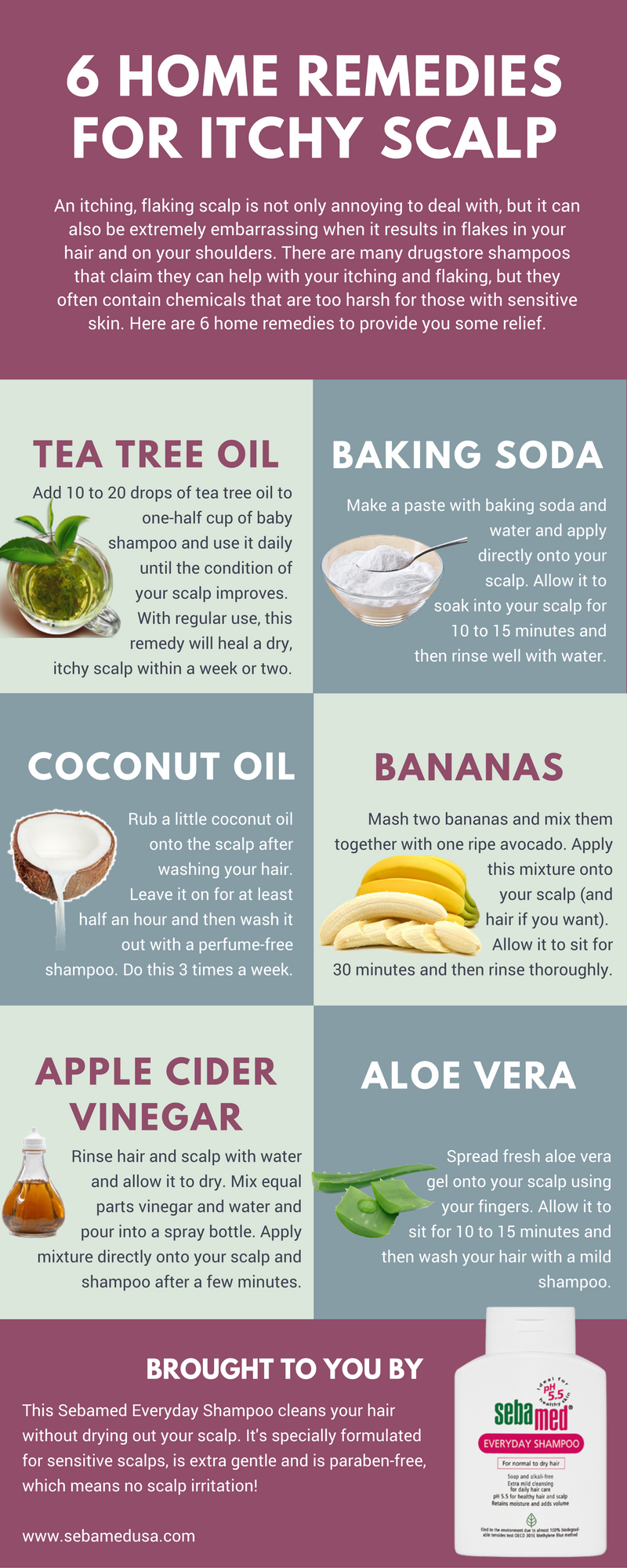 itchy scalp home remedies