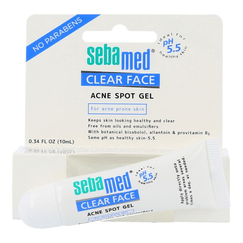sebamed clear face acne spot gel